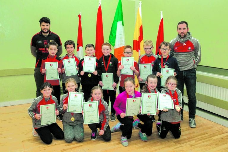 Dundrum GAC salutes their young stars at awards night