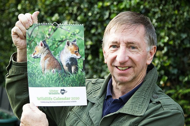 Fantastic foxes photograph is chosen as front cover of wildlife calendar