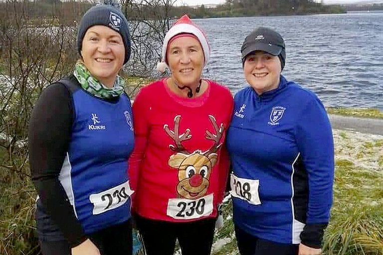 Saintfield Striders enjoy their winter runs