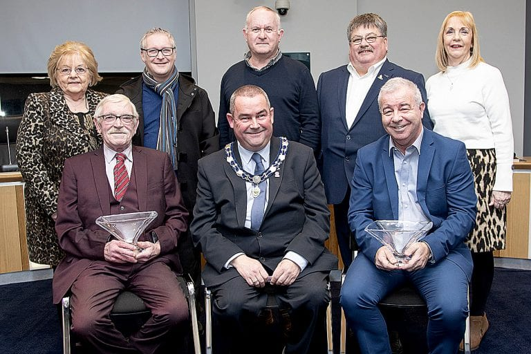 Civic reception for Crossgar and Killyleagh Youth Leagues
