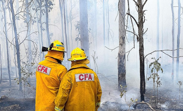 Fundraiser to support work of Australian firefighters