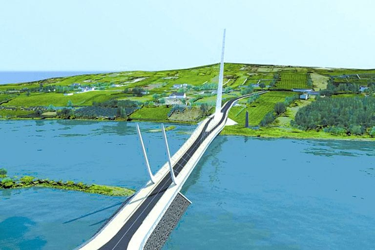 Welcome for bridge plans in agreement