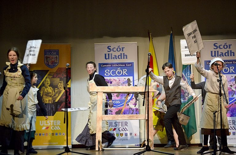 Local acts represent Down at Ulster Scór na nÓg final