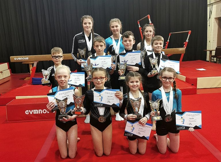 Twist and Splits Gymnastics Academy competitions