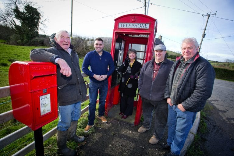 Red telephone box is saved