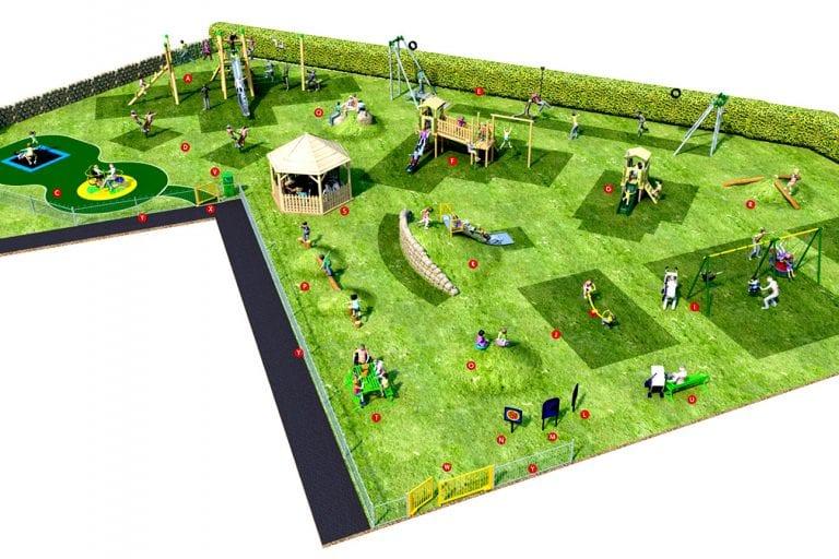 Village play park plans revealed