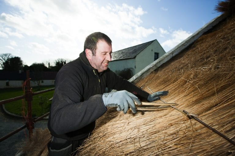 Thatched roof of 17th century cottage gets new lease of life