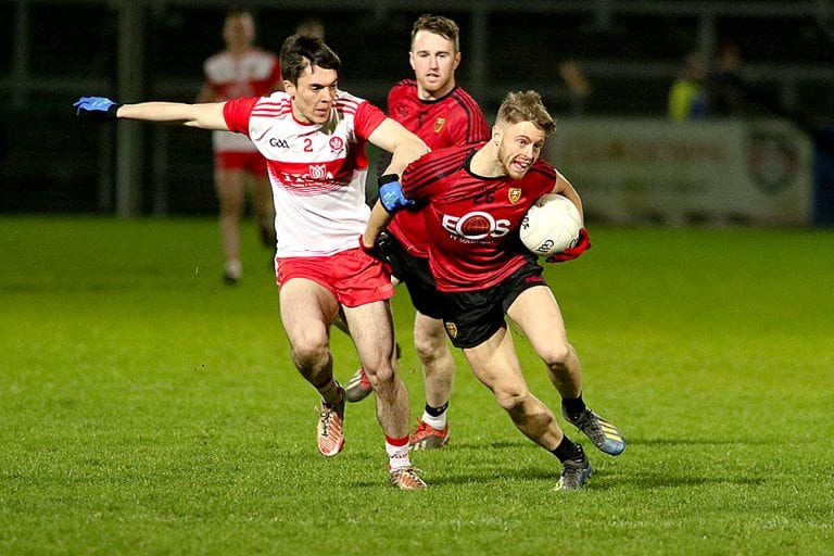 Down travel to play leaders Cork with three points in the bag