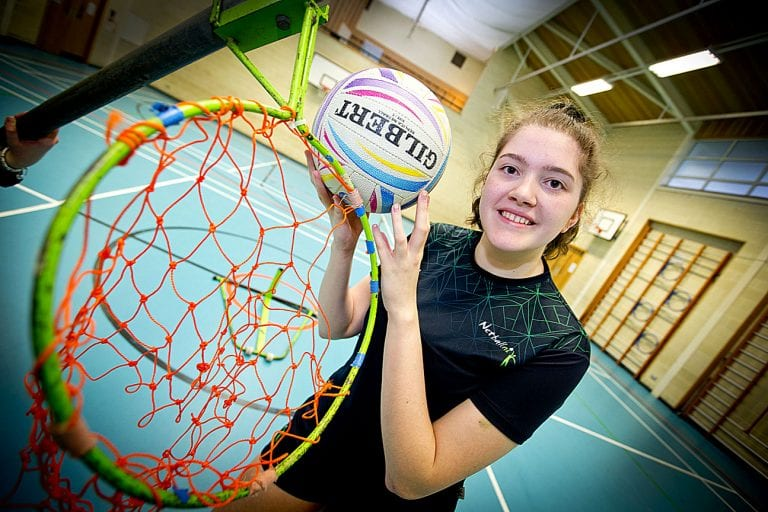 NI call-up for Down High netball player