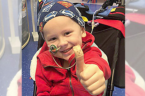 Family remembers their courageous 'little warrior'