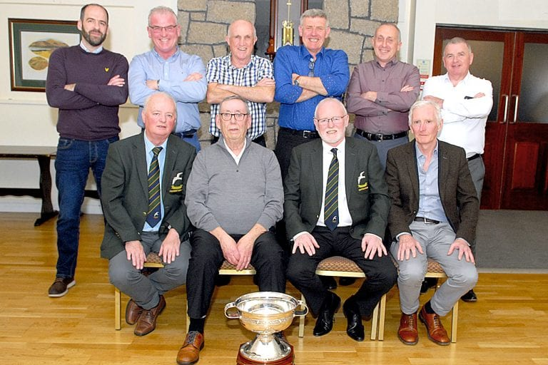 Mourne Golf Club salutes their team players of 2019