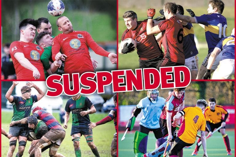 Sport grinds to a halt over COVID-19 outbreak