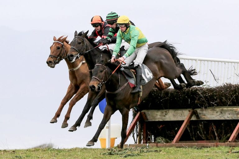 East Down Foxhounds' point to point at Tyrella