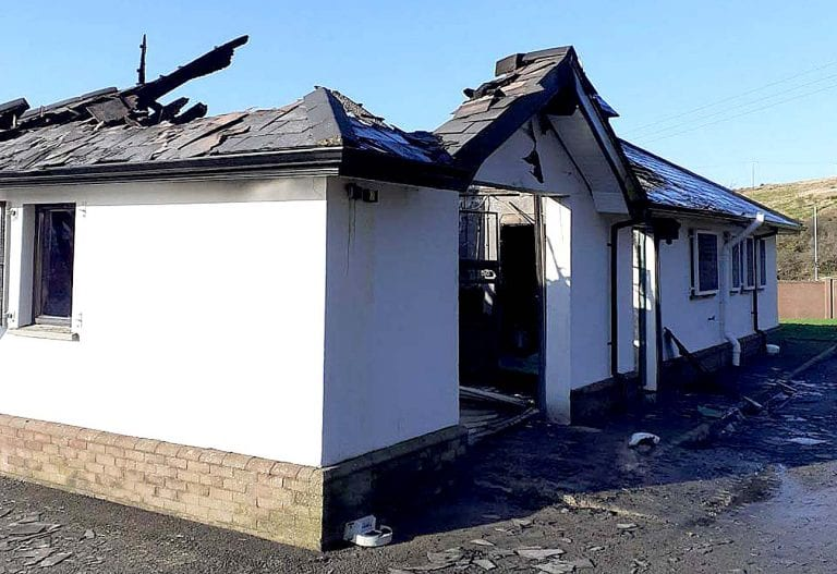 Cemetery fire was 'accidental' says Fire Service