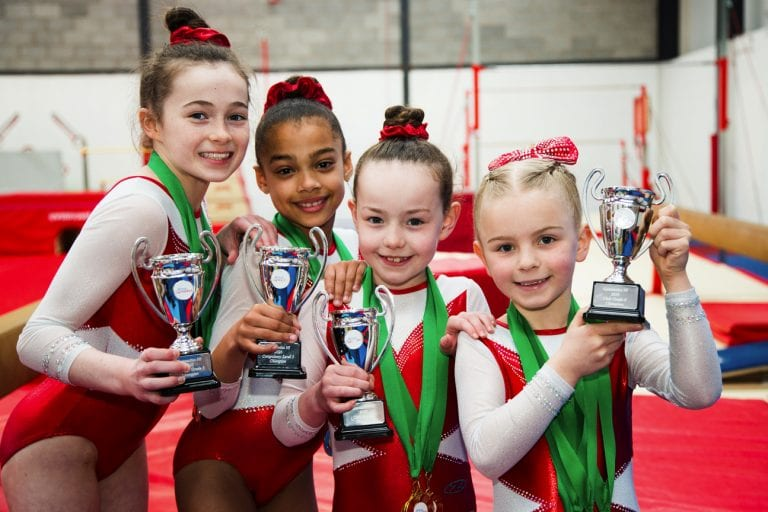 Sokol Gymnastics Academy has four NI champions