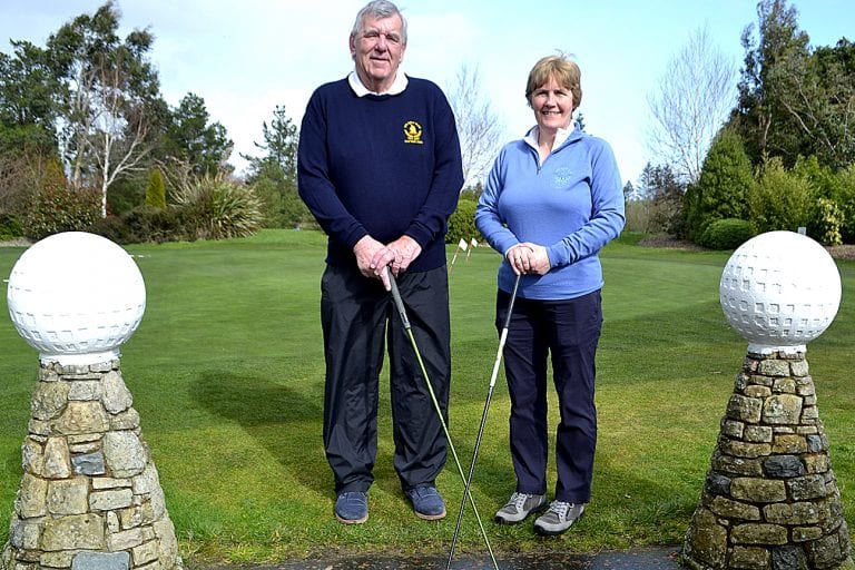 Golfers are told they can still take to the fairways