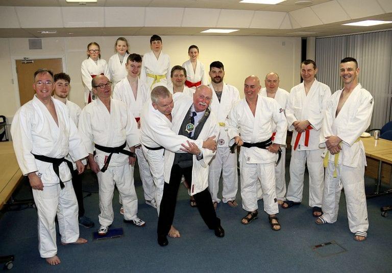 Council recognises achievements of Warrenpoint Judo Club