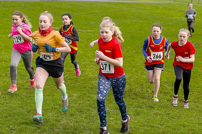 Final race in Junior cross country series at Tollymore