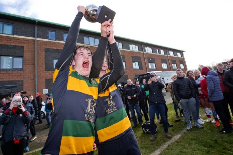 Down High boys win rugby's Medallion Bowl