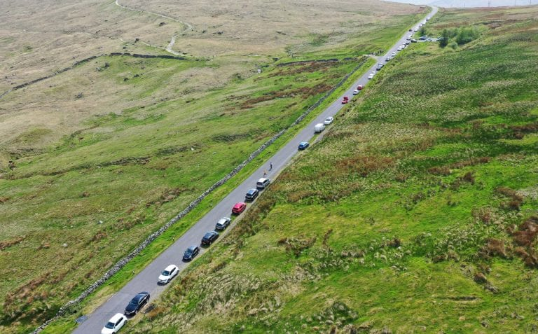 Concern over numbers of visitors flocking to area