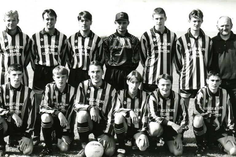 Photo memories of Ballyvea FC