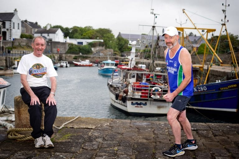 Damien to run 56 miles for hospice