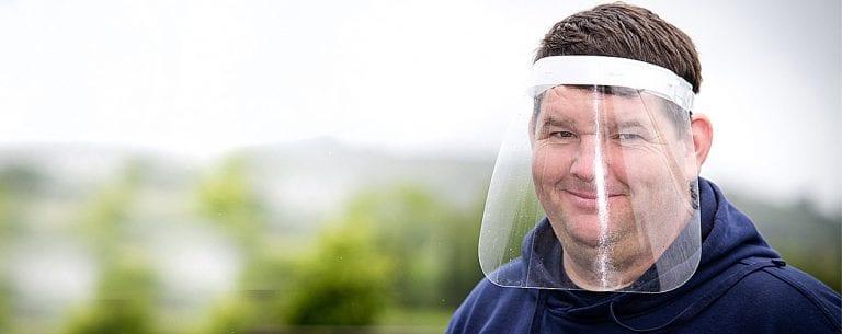 Castlewellan man donates over 5,000 visors to frontline staff