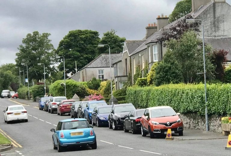 Frustration over parking problem villagers believe is getting worse
