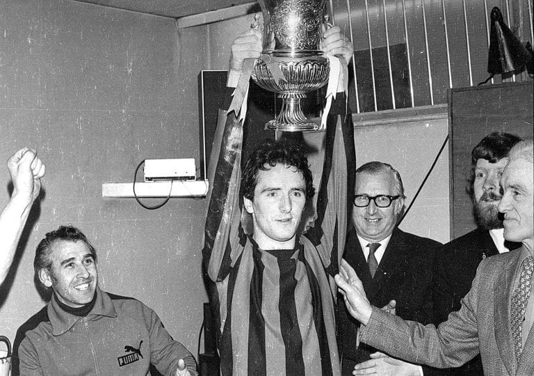 Memories of Downpatrick Rec's sensational cup success