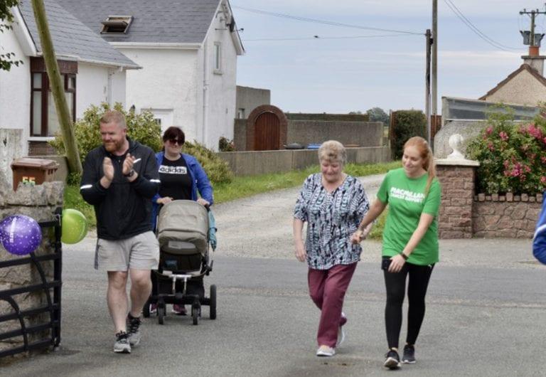 Francine walks 500 miles