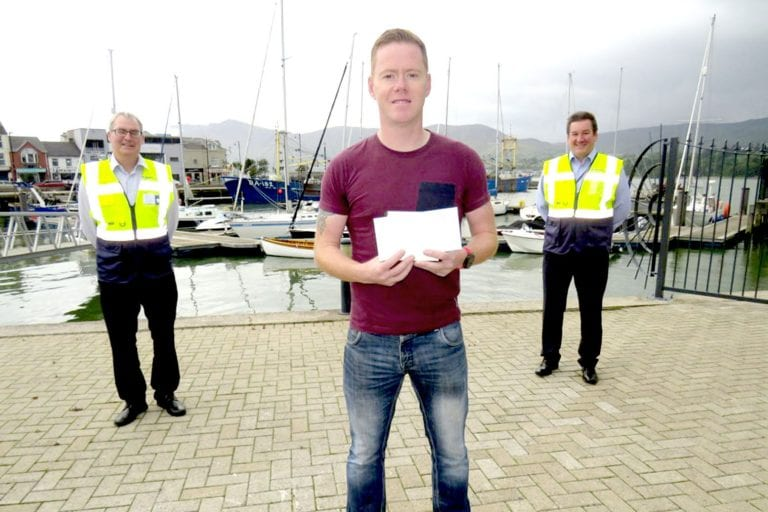 Local man praised for his role in lough rescue
