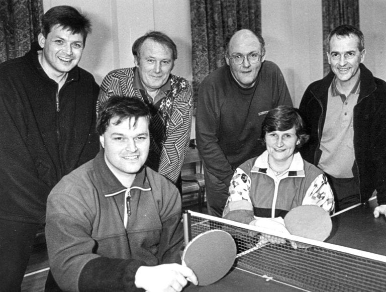 Photo memories from the East Down Churches Table Tennis League