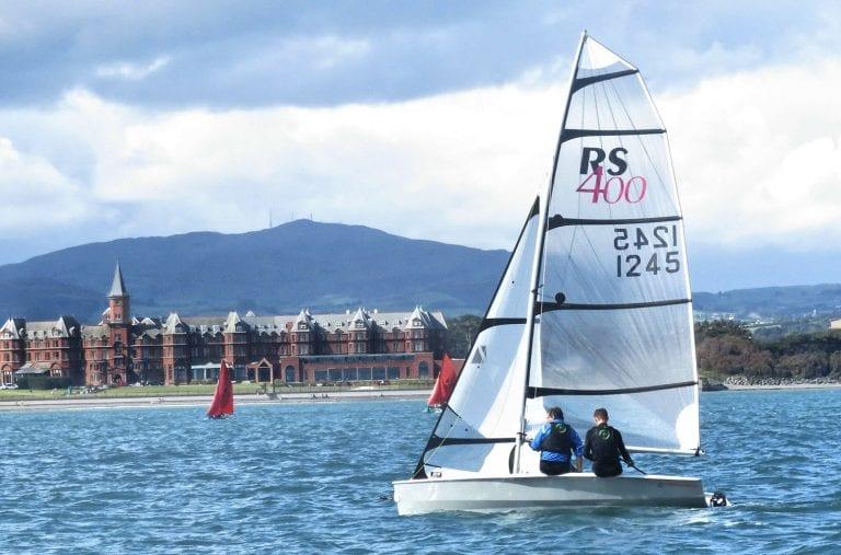 Sun shines for Regatta day at Newcastle Yacht Club