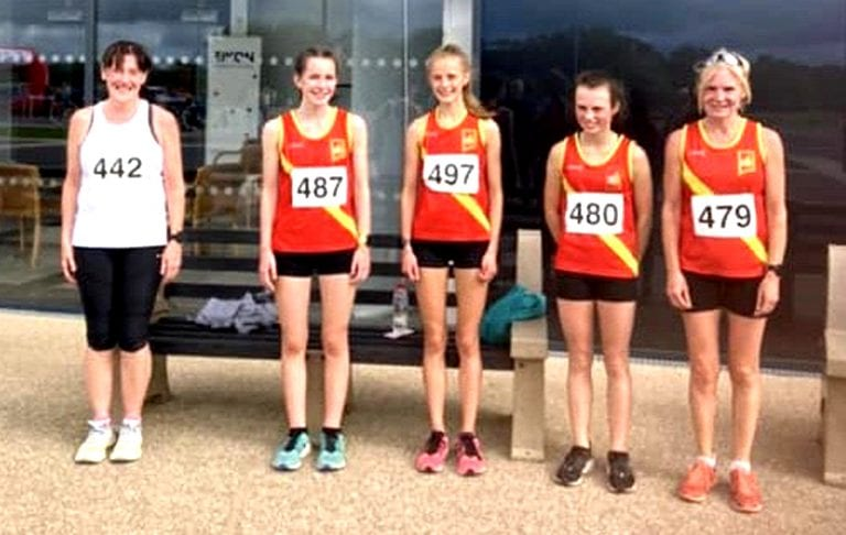 East Down AC athletes compete at Eikon races