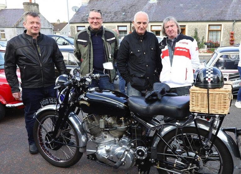 Crossgar to Killyleagh cavalcade in memory of Brian Steenson