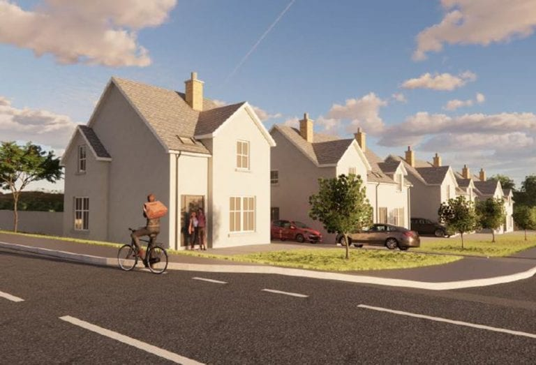 Proposal for new housing in village