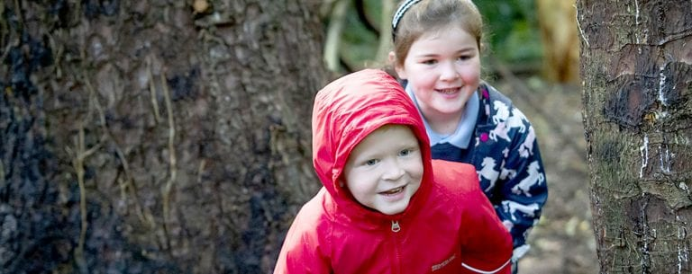 Spa pupils branch out at forest school