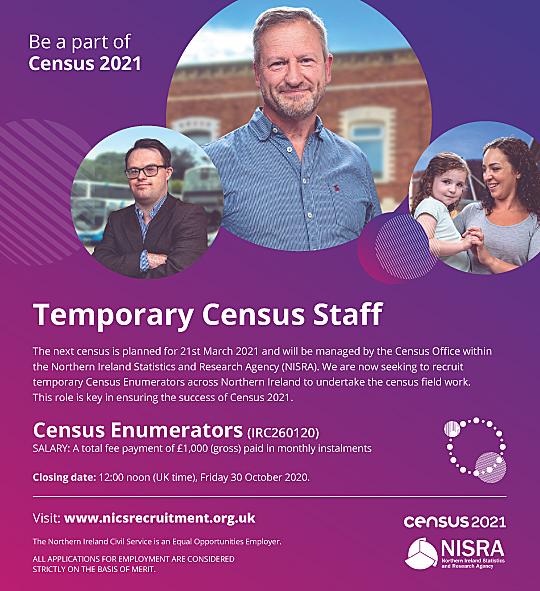 Census 2021 Recruitment