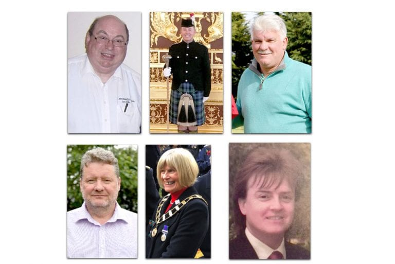 Local people are honoured by the Queen