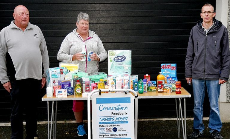 Foodbank appeals for donations of hygiene products