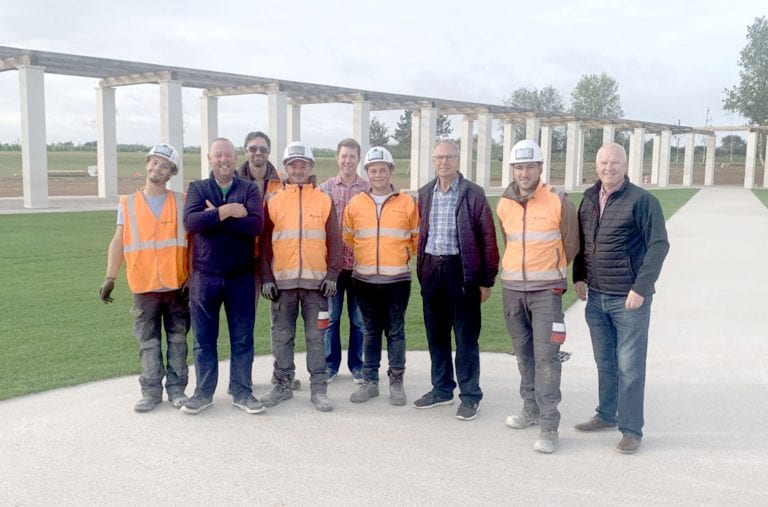 Mourne craftsmen play major part in creating memorial