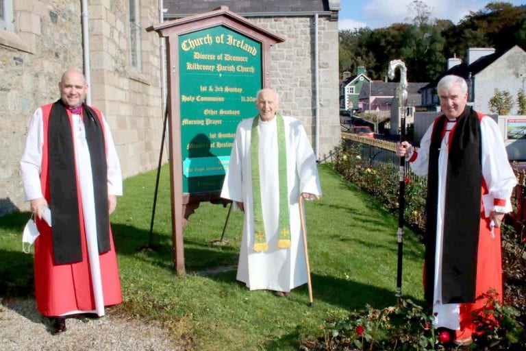 Village church celebrates Canon Jameson's 70 years of ministry