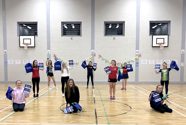 Newcastle netball players back on the court