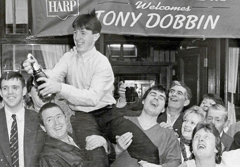 Recalling Tony Dobbin's Grand National victory