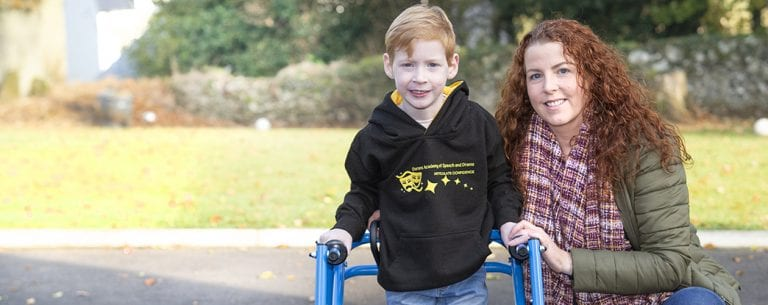 Help make Matthew's wish to walk come true