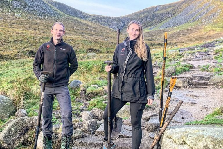 The path to a better future for the Mournes