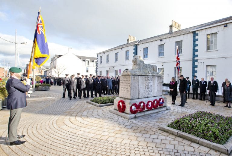 Towns to host smaller scale acts of remembrance