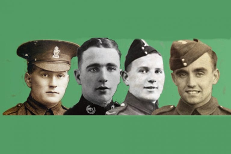 Remembering lives lost in wartime