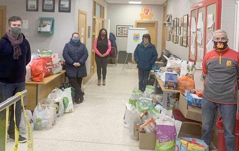 St John's GAC helps Pantry Foodbank