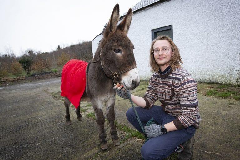 Ballynahinch family give Bernard a new home